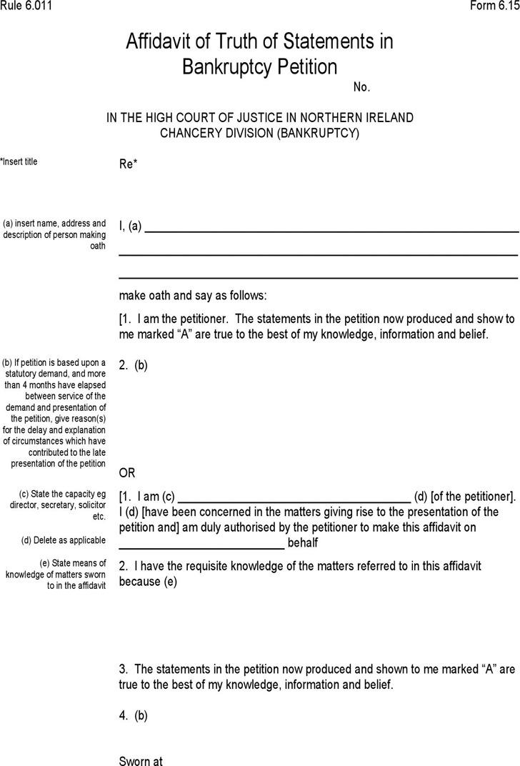 free affidavit form | lukex.co