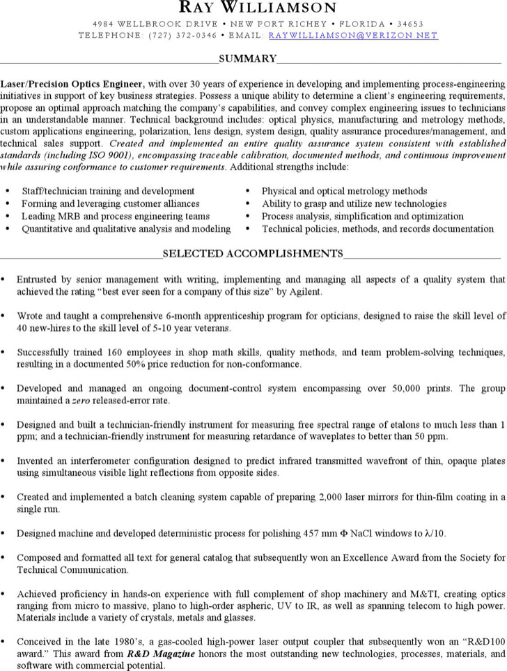 Optician Resume Templates Download Free  Premium Templates, Forms - optician resume
