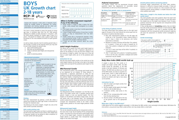 Sample Baby Height Weight Chart Templates for Baby Download Free - bmi chart template
