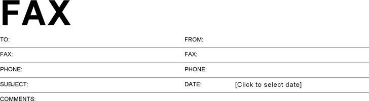 Basic Fax Cover Sheet Download Free  Premium Templates, Forms - basic fax cover sheet