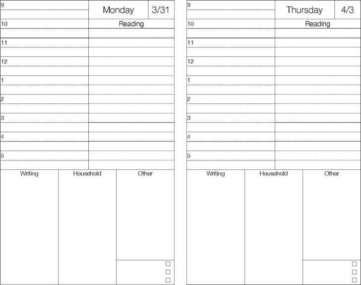7+ Sample Best Daily Planner Templates Free Download
