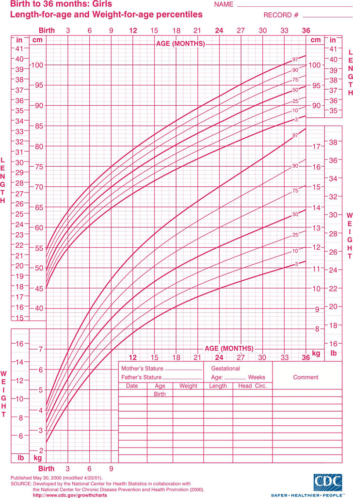 Girls Growth Chart Download Free  Premium Templates, Forms
