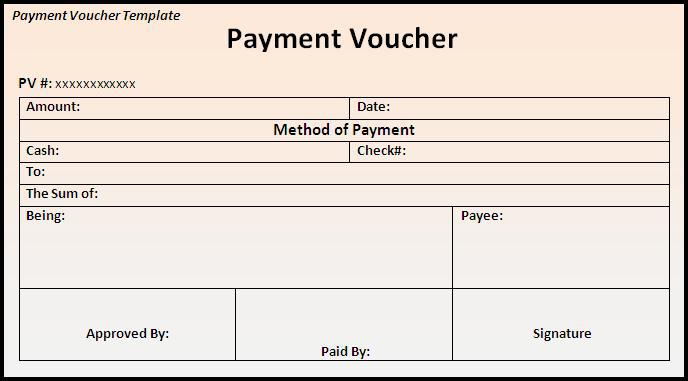17+ Blank Voucher Template Free Download