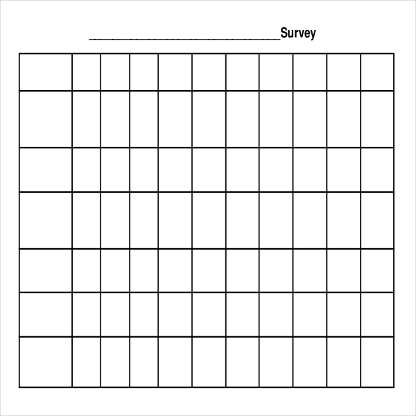 Free Survey Templates Sample Product Survey Template Free