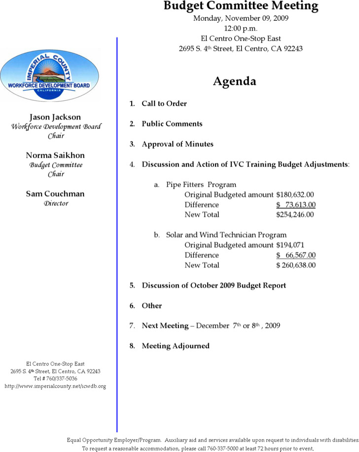 ... Agenda Formats Business Meeting Agenda Template Agenda   Meeting Agenda  Formats ...