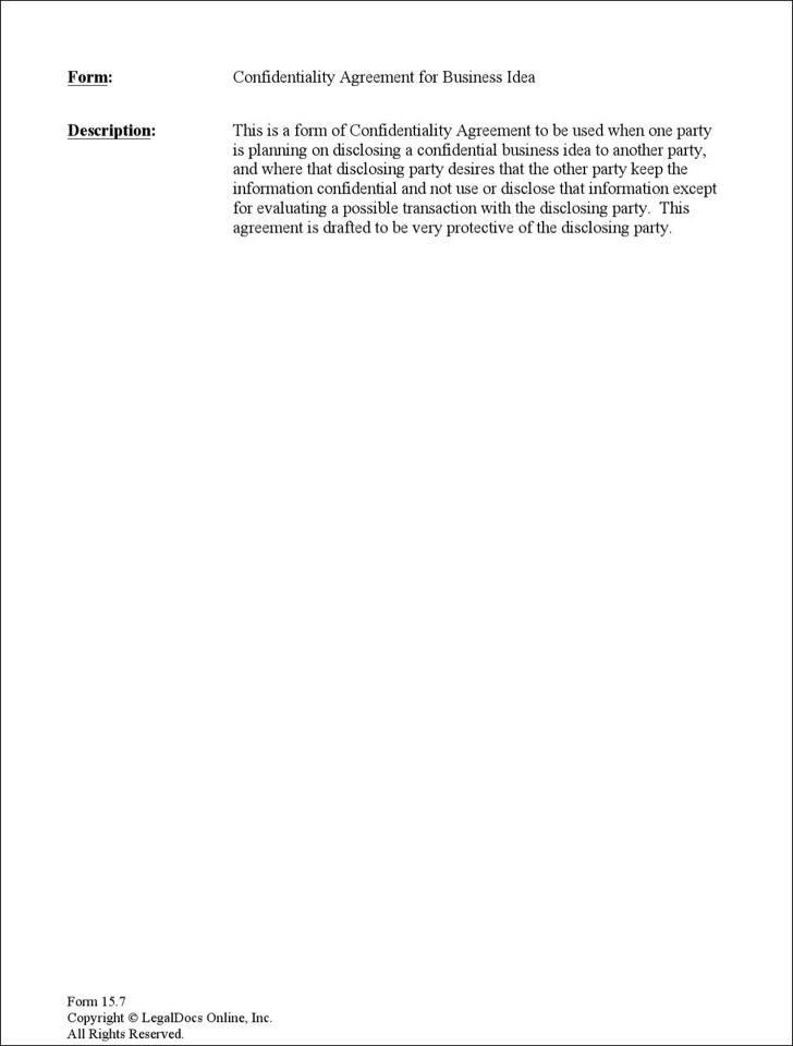 Celebrity Confidentiality Agreement Templates Download Free - confidentiality agreement template word