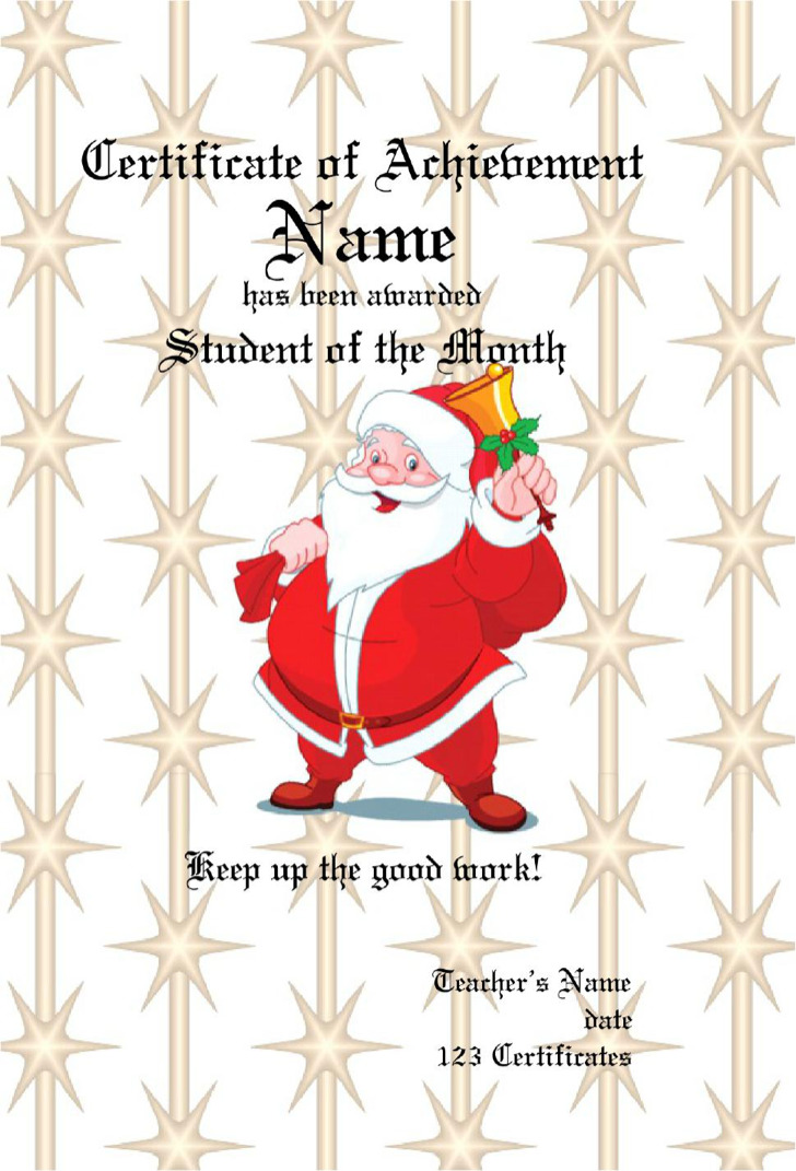 Christmas Gift Certificate Templates Download Free  Premium - christmas gift card templates free