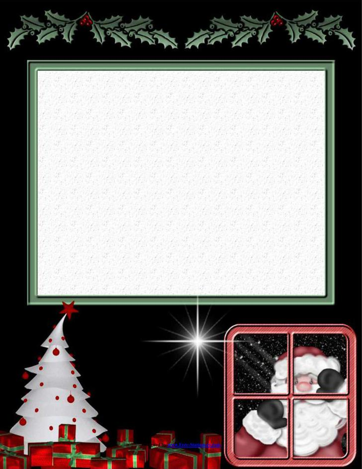 24+ Christmas Stationery Templates Free Download