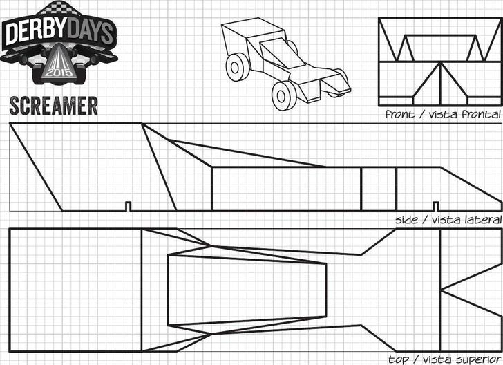 Cool Pinewood Derby Templates Download Free  Premium Templates - pinewood derby template