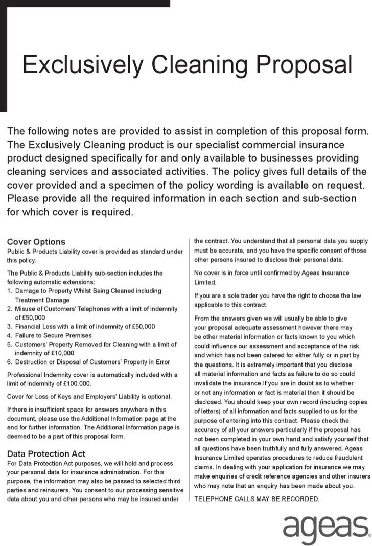 sample cleaning proposal template node2002-cvresumepaasprovider - sample cleaning proposal template