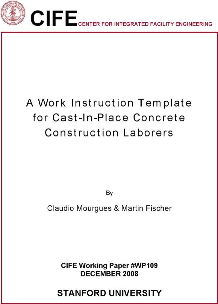 work instructions template word - Alannoscrapleftbehind - instruction template word