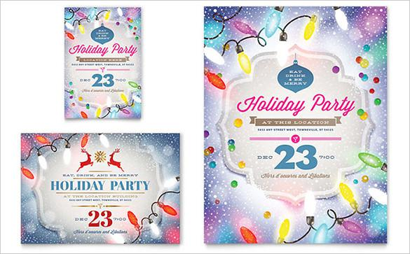 Holiday Party Flyer Templates Download Free  Premium Templates - holiday party flyer template