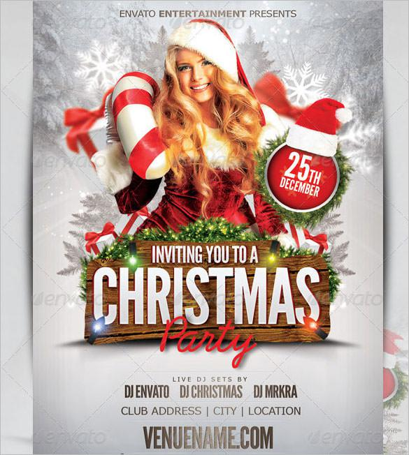 Christmas Flyer Templates Download Free  Premium Templates, Forms