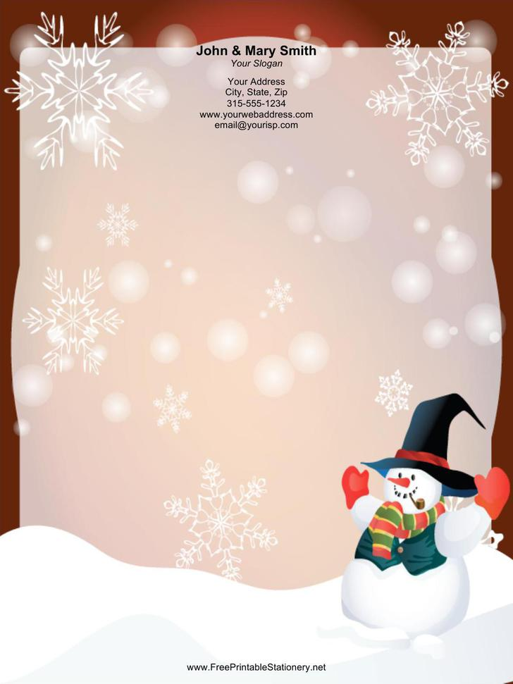 christmas email stationery templates free - Minimfagency - free holiday paper templates