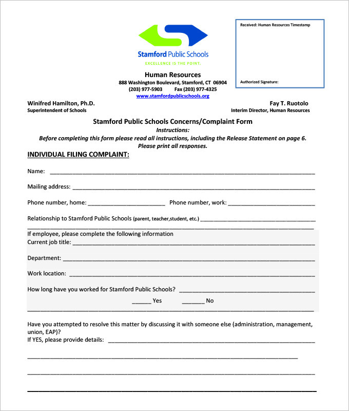 Employee Petition - creating signers form for petition