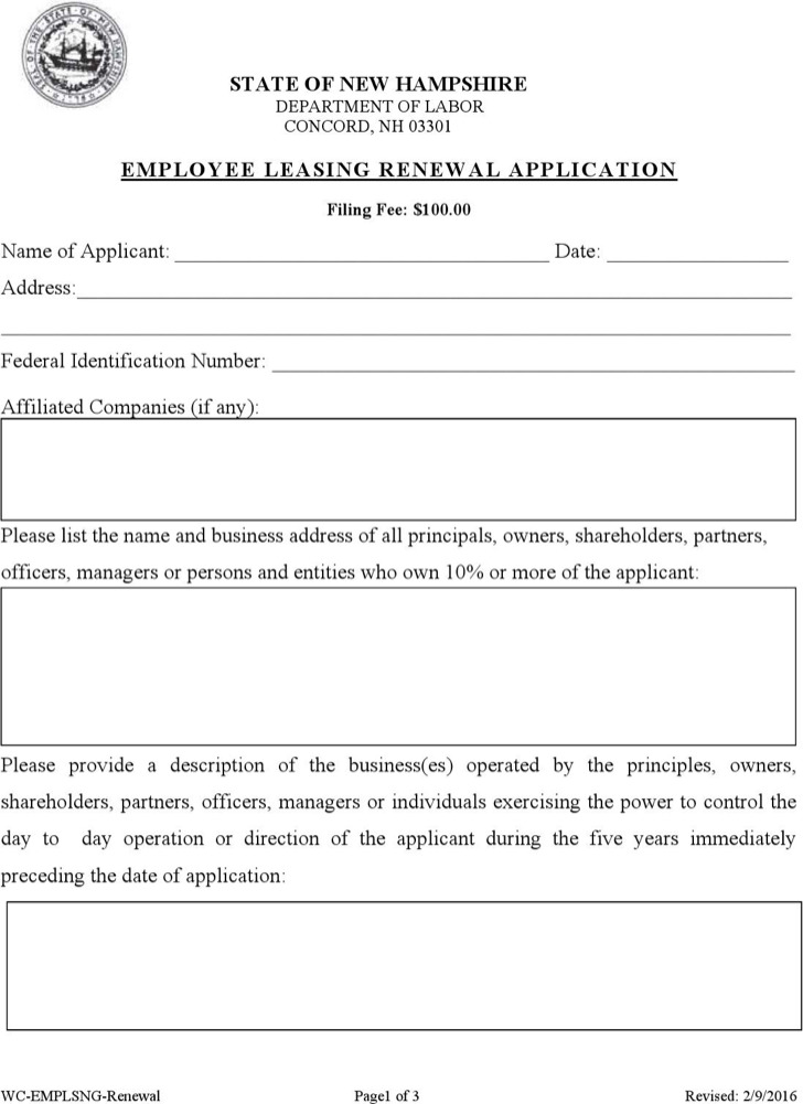 Sample Lease Renewal Templates Download Free \ Premium Templates - lease renewal form