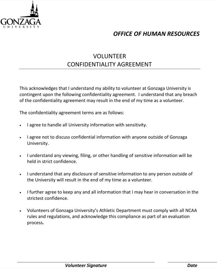 Hr Agreement hr agreement hr confidentiality agreements free sample