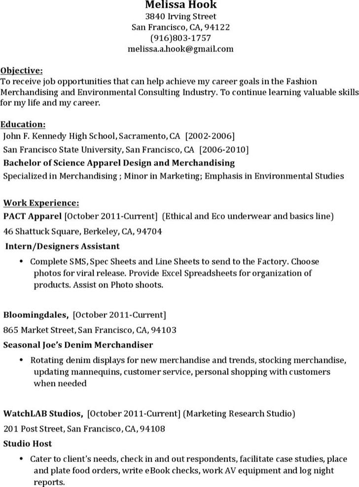 seamstress resume - Seamstress Resume