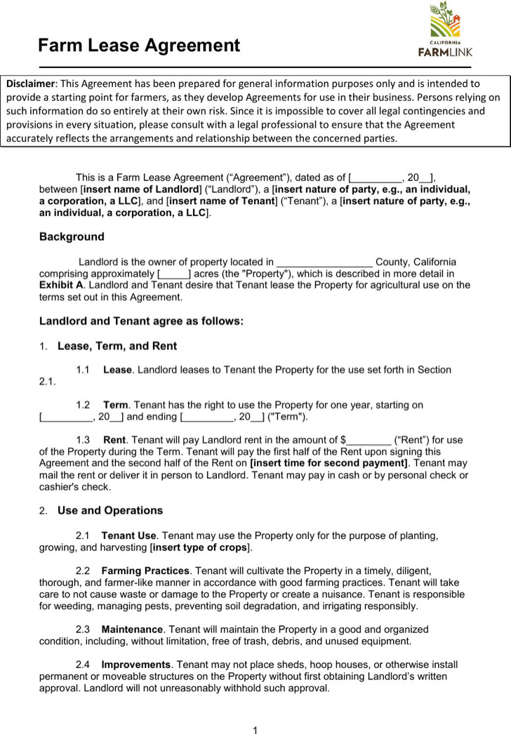 Equipment Lease Agreement Pdf Format Blank Equipment Rental - free rental agreement template