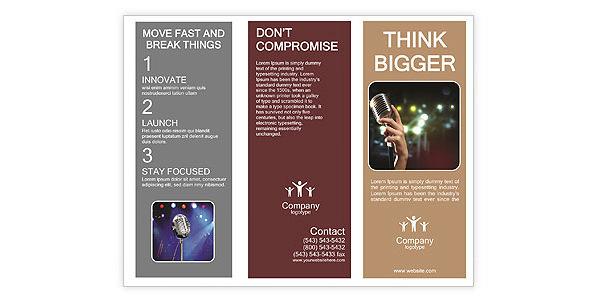 Best Retro Brochure Templates Download Free  Premium Templates - retro brochure template