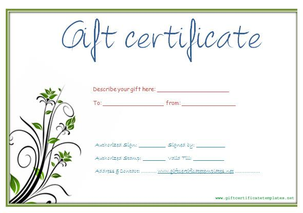 blank gift certificate template word - 28 images - 9 blank gift - Free Gift Certificate Template For Word