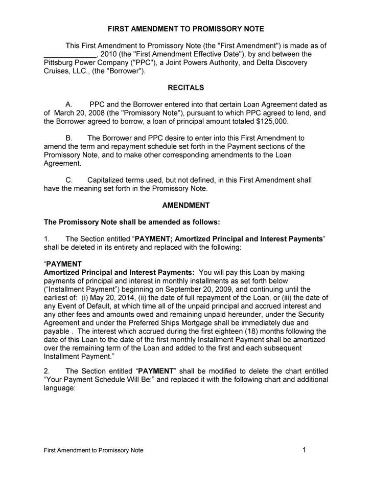 Promissory note template free download jobsbillybullockus – Promissory Letter Sample
