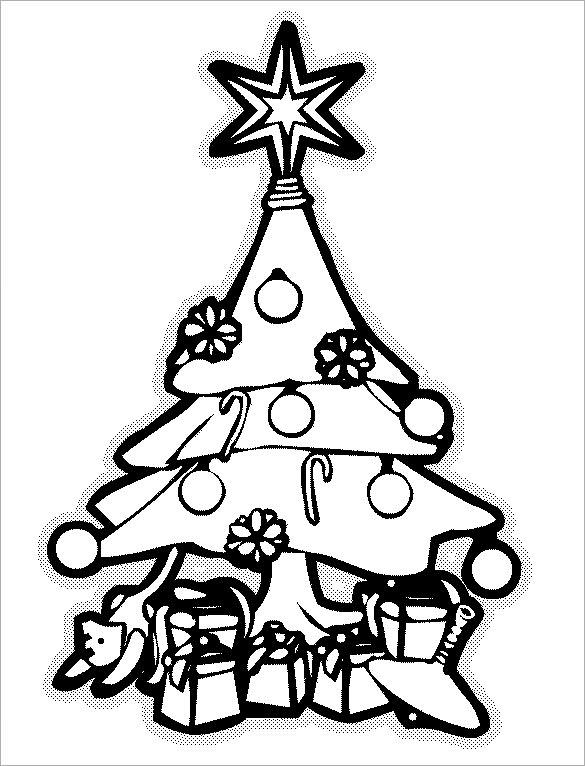 Christmas Tree Templates Download Free  Premium Templates, Forms