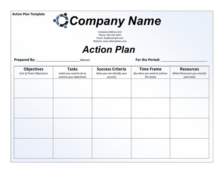 Action Planning Templates business action plan template u2013 8 – Task Action Plan Template