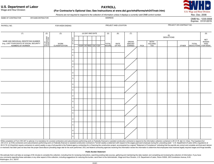 Payroll Templates Download Free  Premium Templates, Forms