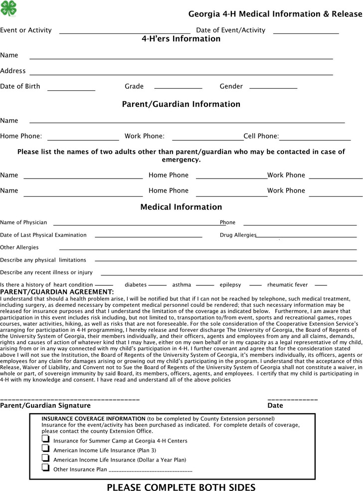 7+ Georgia Probate Forms Free Download