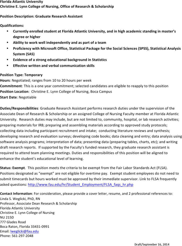 Research Assistant Resume Templates Download Free  Premium