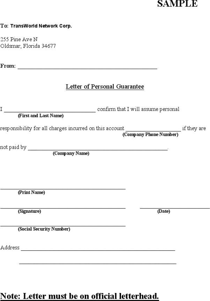 100+  Guarantee Letter Bank Sample  Sample Of Bank Guarantee - guarantee letter