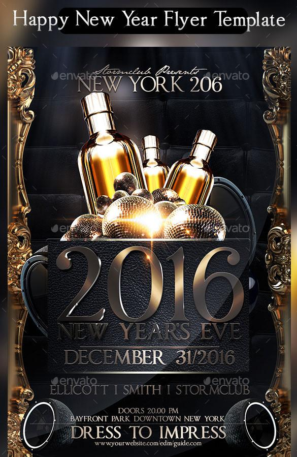 New Year Flyer Templates Download Free  Premium Templates, Forms - free pdf flyer templates