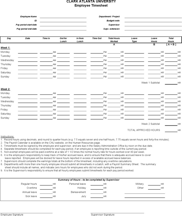 Sample Project Timesheet Employee Timesheet Excel Template - sample payroll timesheet