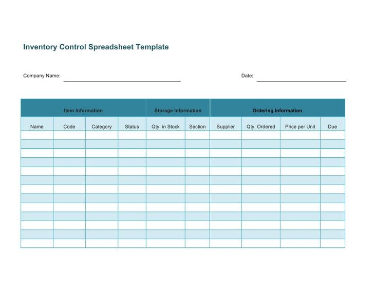 45+ Inventory Spreadsheet Templates Free Download