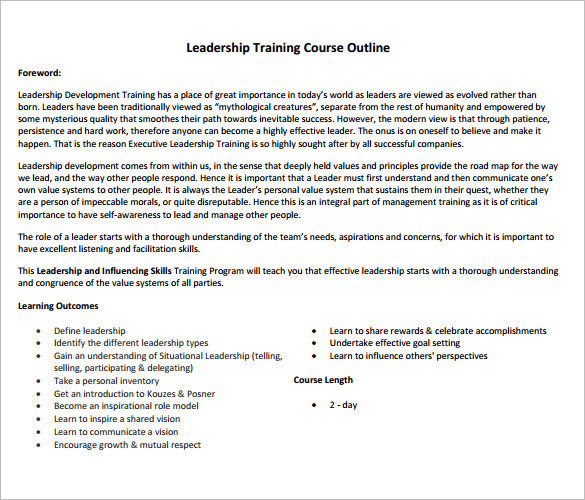 Outline Template Project Outline Template Excel Project Outline - training outline template