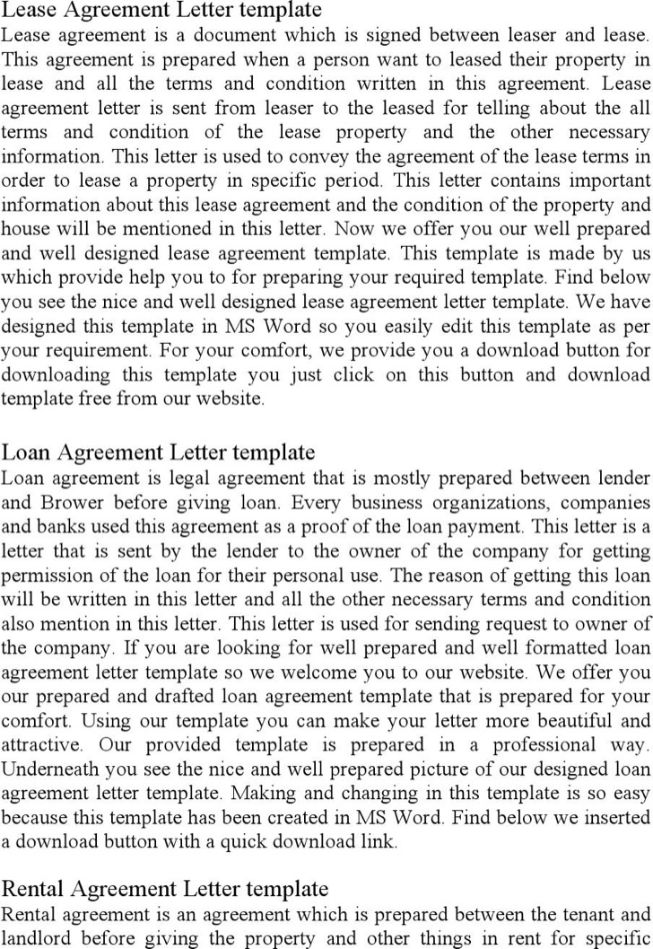 Rental Agreement Letters 2017 Landlord Ending A Tenancy Agreement   Sample  Room Rental Agreement