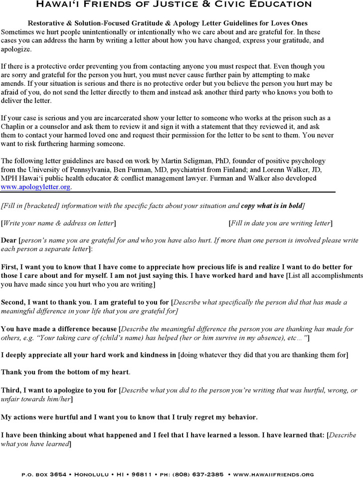 Apology Love Letter Download Free  Premium Templates, Forms