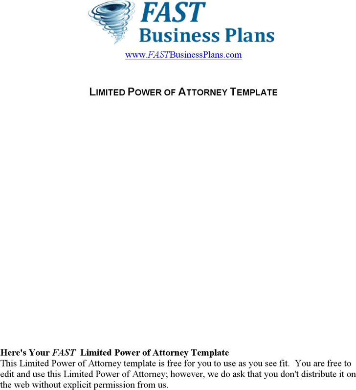 Limited Power of Attorney Form Download Free  Premium Templates - sample limited power of attorney form