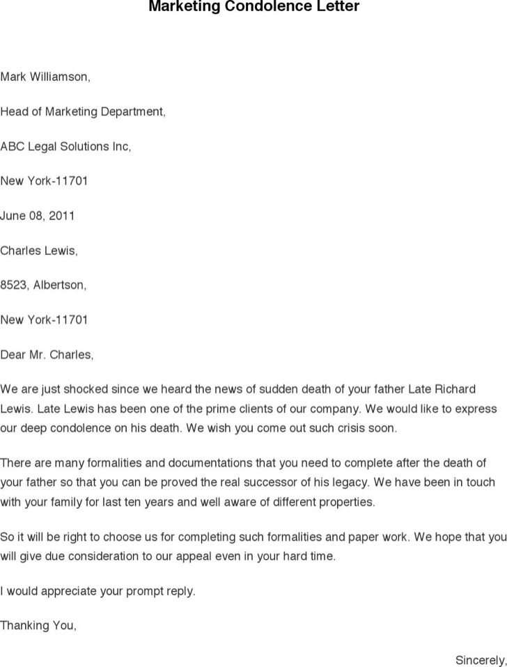How to write a letter of condolence Research paper Academic Service - condolence letter