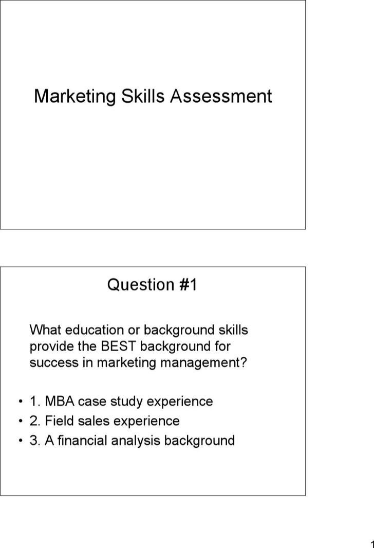 Sales Skills Assessment Template Image collections - Template Design