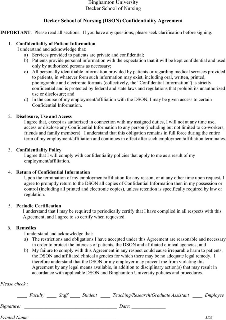 Hr Confidentiality Agreements sample employee non-compete - sample employee confidentiality agreement