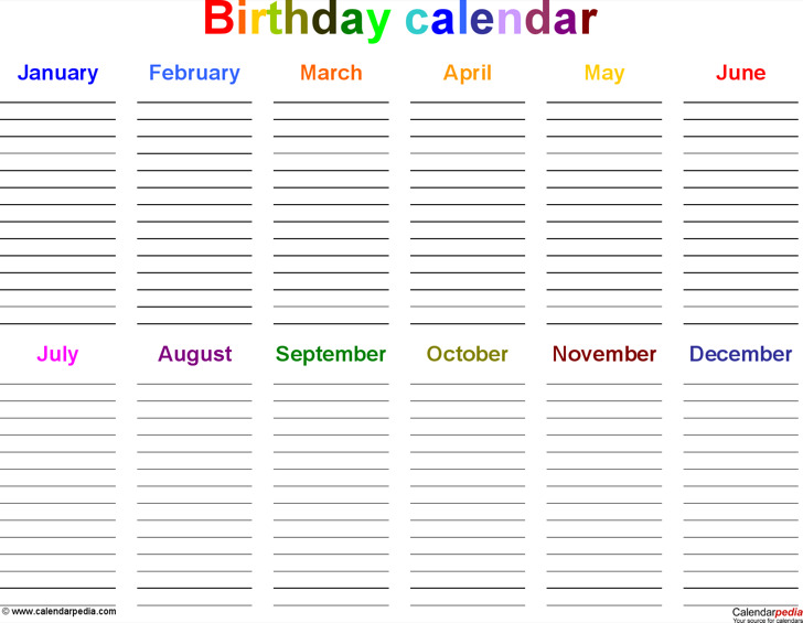 office calendar templates - Teacheng