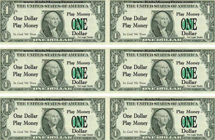Play Money Template Download Free  Premium Templates, Forms