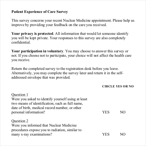 Fine Health Survey Template Pattern - Resume Ideas - bayaarinfo - health survey template