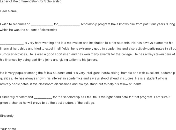 Printable Recommendation Letters,recommendationprintable - letter of recommendation example