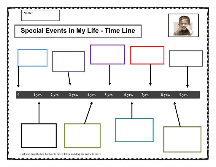 Timeline Templates Download Free  Premium Templates, Forms - timeline template for student