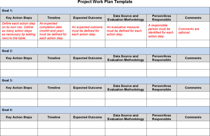 project work plan template costumepartyrun