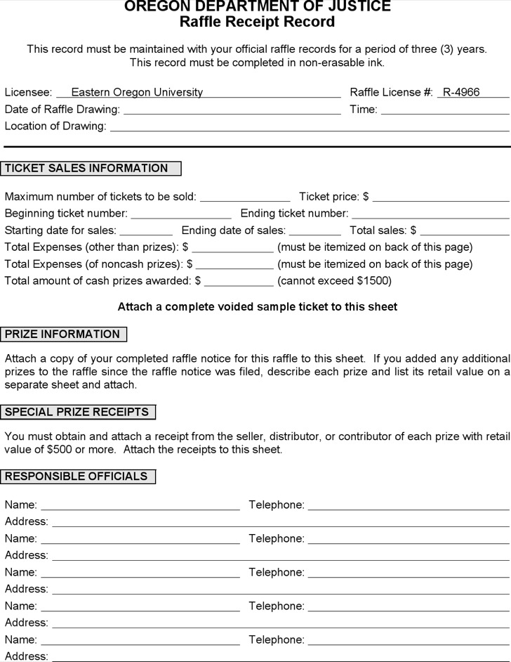 Sample Raffle Tickets Template  Resume Ideas  NamanasaCom