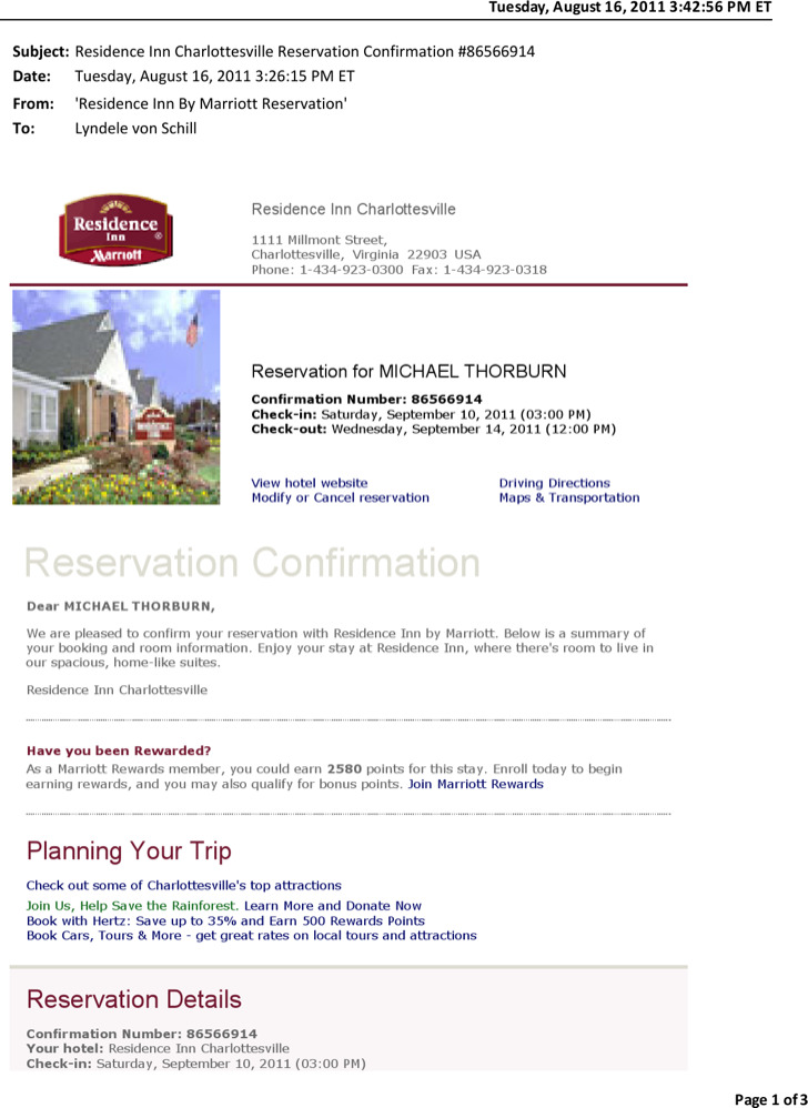 Hotel Confirmation Email Template Images - Template Design Ideas - confirmation email template